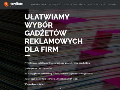 Medium - Projekty reklamowe Katowice