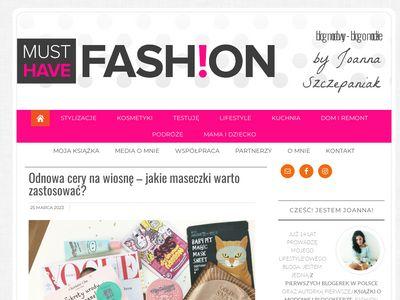 Blog o modzie - MustHaveFashion.pl