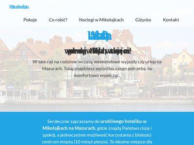 Hotel Mazurska Chata - Mikołajki