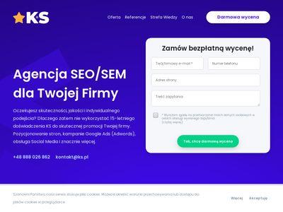 Kampanie SEO - Pozycjonowanie stron internetowych
