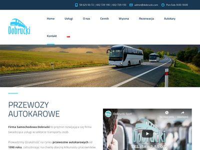 Dobrucki - Wynajem autokarów w Sopocie