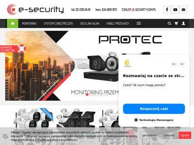 E-Security - Profesjonalna kamera zewnętrzna