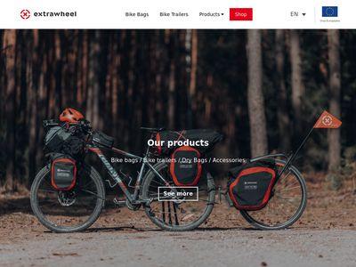 Extrawheel - Przyczepki rowerowe - jednokołowe