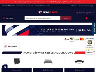 EuroFrance.pl - Części do Citroena