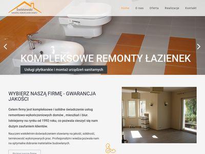 Wojciech Świstowski - Usługi remontowe Gdańsk