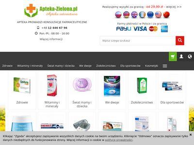 Apteka-Zielona.pl - Apteka internetowa