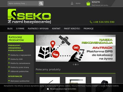 SEKO - Podsłuchy GSM