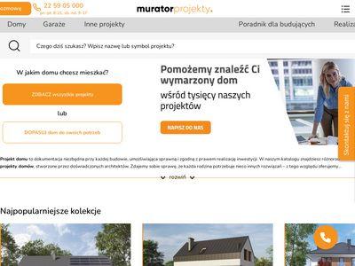 Murator - Katalog gotowych projektów domów
