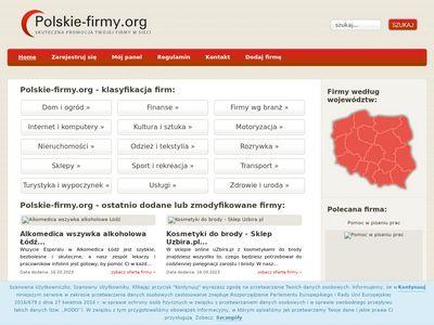 Polskie-firmy.org - Katalog firm www