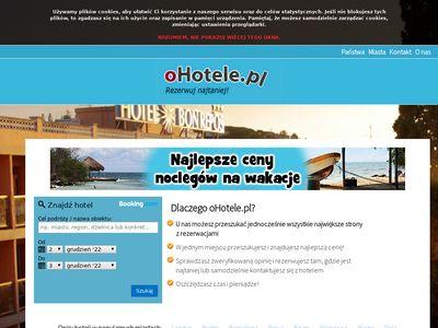 oHotele.pl - Tanie hotele i noclegi
