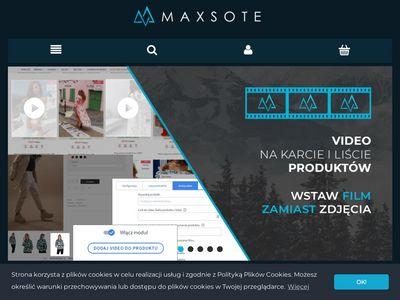 MaxSOTE.pl - Szablony do Allegro