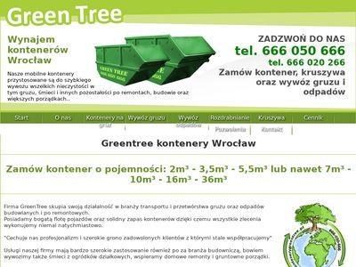 GREN TREE - Kontenery na gruz Wrocław