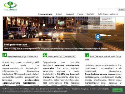 InnovaGtech - Monitoring GPS pojazdów samochodowych