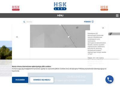HSK Ledy - projektowanie oświetlenia