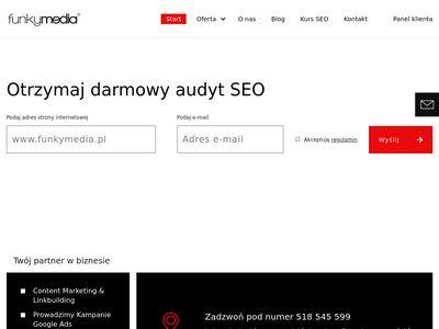 Funkymedia - Tworzenie stron www