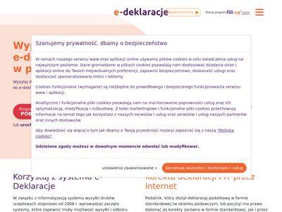 e-deklaracje.info.pl - Program PIT