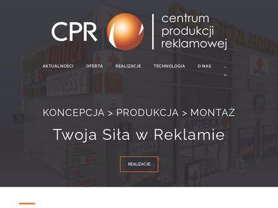 CPR - Profesjonalna produkcja reklamowa