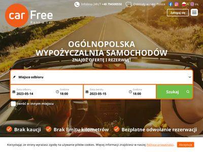 Carfree - Wypożyczalnia samochodów
