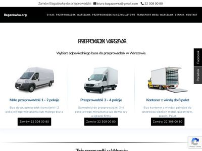 Bagazowka.org - Tanie taxi bagażowe Warszawa