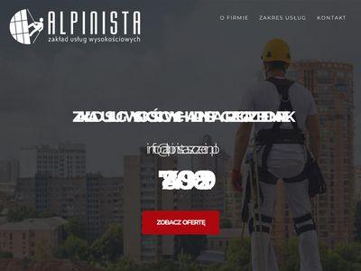 Alpinista - Usługi wysokościowe Szczecin